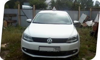 Уроки вождения на Volkswagen Jetta мкпп