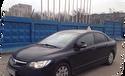 Обучение вождению на Honda Civic 4d мкпп
