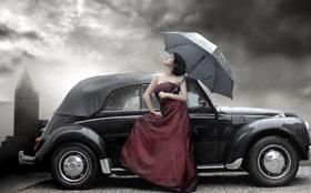 Вождение автомобиля в условиях дождя и тумана