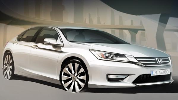 Honda показала, каким будет новый Accord