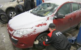 За отсутствие зимней резины грозит штраф в пять тысяч рублей