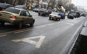 За ездой по выделенным полосам будут следить из автобусов