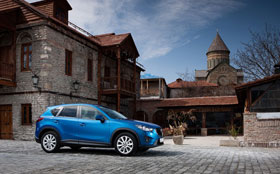 Россия встречает дизельную Mazda CX-5