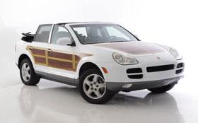 Porsche Cayenne остался без крыши