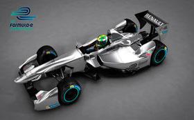 Представлен первый болид новой «Формулы Е»