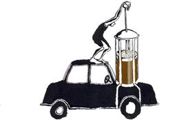 Скоро автомобили будут ездить на… кофе