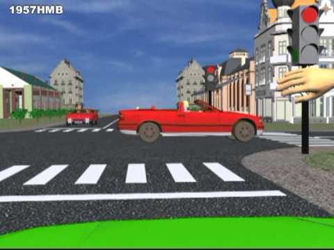Проезд перекрёстков: 1 часть