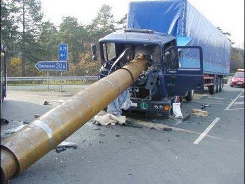 Большая подборка жестких аварий грузовиков